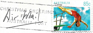 diver stamp