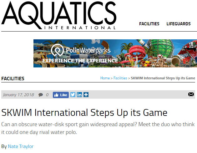 Headline: SKWIM steps up its game